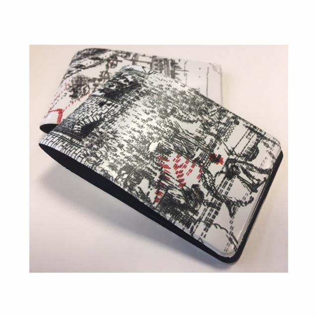 Digitally printed travel ticket wallets