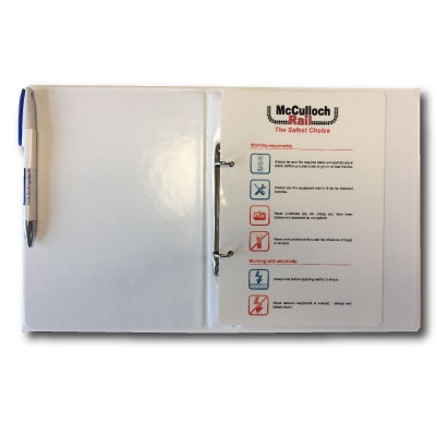 Custom made employee hand book